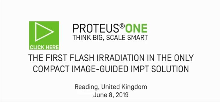 Flash Irradiation Delivered in a Proteus®ONE Treatment Room